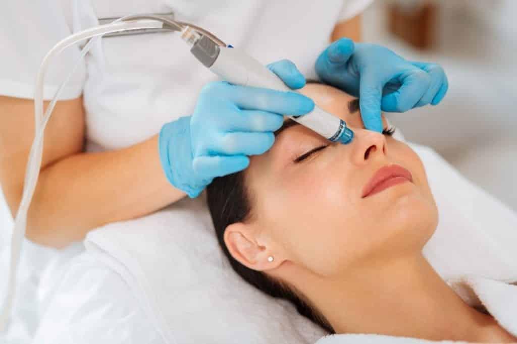 hydrafacial tratamento de rosto